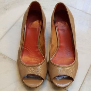 Cole Haan Air Tali Wedges Cove Patent